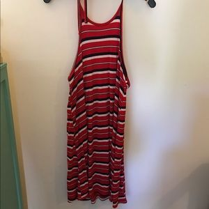 Target Striped Halter Dress